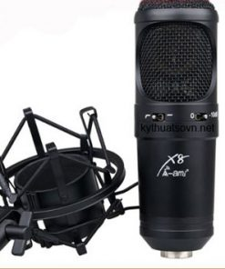 Micro thu âm Ami X8 cao cấp chính hãng.