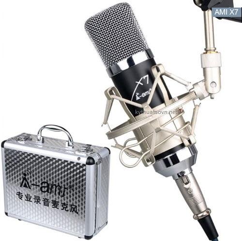 Micro thu âm Ami X7