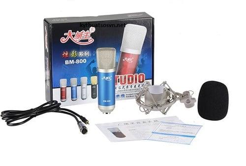 Micro thu âm Bm800