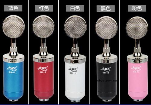 Micro thu âm DM-12 giá rẻ