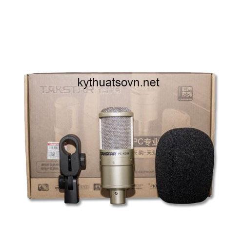 Micro thu âm takstar pc k200