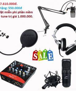 Trọn bộ thu âm cao cấp giá rẻ