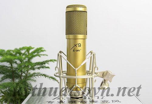 micro thu âm, micro thu am, ami x9, ami x8, ami bm900, micro thu âm dynamic, micro thu am ami x9