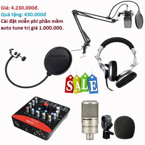 Trọn bộ thu âm giá rẻ - combo 5