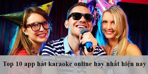 app hát karaoke online