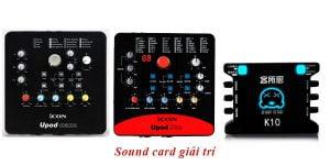 sound card thu âm